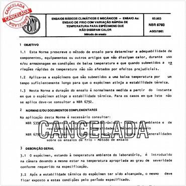 NBR6793 de 08/1981