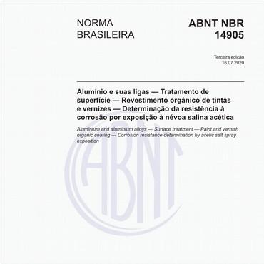 NBR14905 de 07/2020