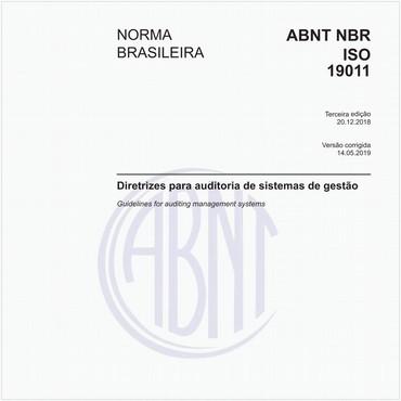 NBRISO19011 de 12/2018