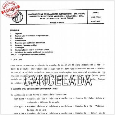 NBR5391 de 04/1985