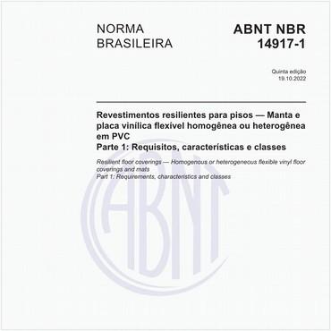 NBR14917-1 de 03/2017