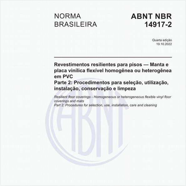 NBR14917-2 de 03/2017