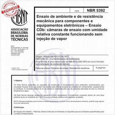 NBR5392 de 1972