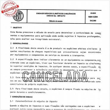 NBR5394 de 12/1980