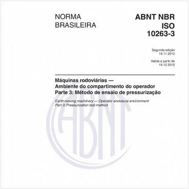 NBRISO10263-3 de 11/2010
