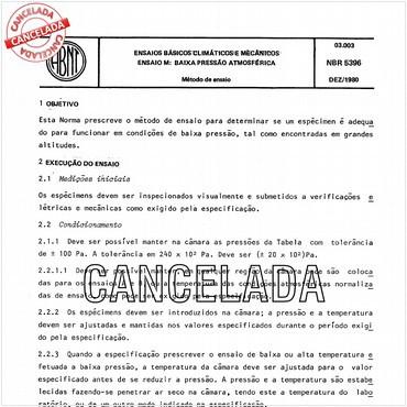 NBR5396 de 12/1980