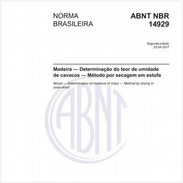 NBR14929 de 04/2017