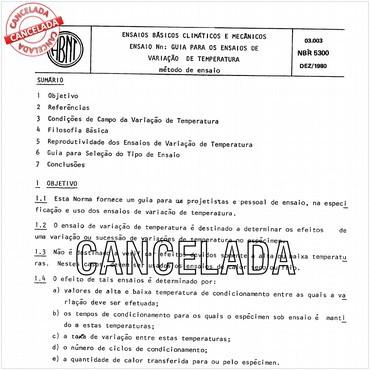 NBR5300 de 12/1980