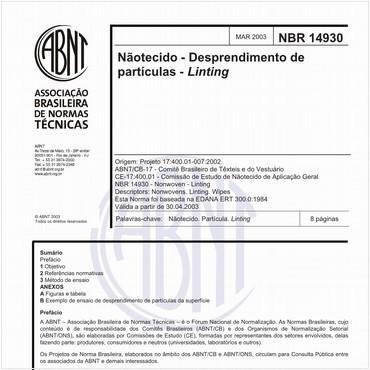 NBR14930 de 03/2003