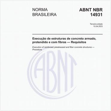 NBR14931 de 04/2004