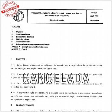 NBR5301 de 12/1980