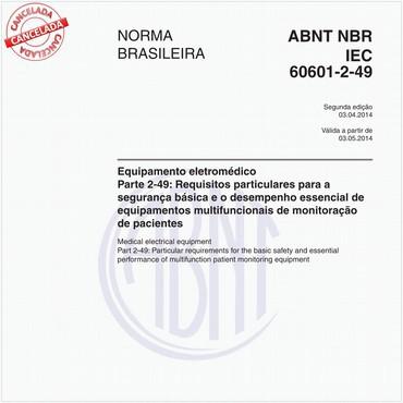NBRIEC60601-2-49 de 04/2014