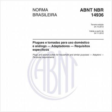 NBR14936 de 10/2012