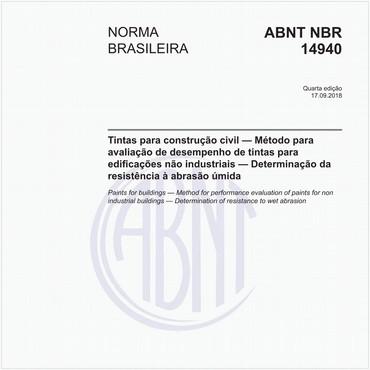 NBR14940 de 09/2018