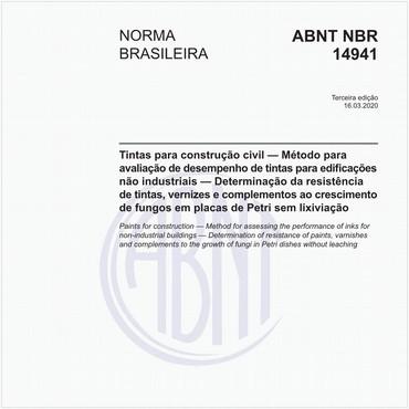 NBR14941 de 09/2011
