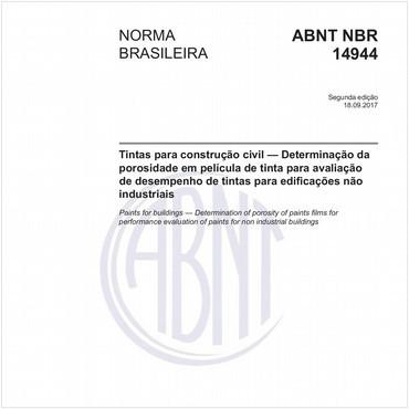 NBR14944 de 09/2017