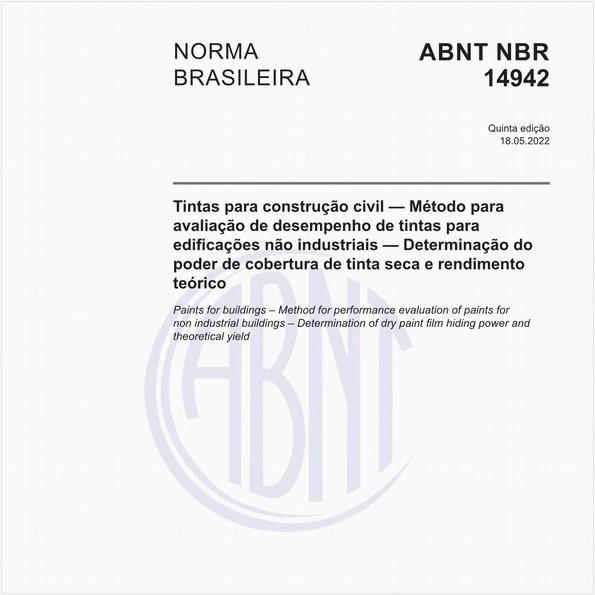 NBR14942 de 10/2016