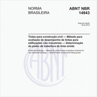 NBR14943 de 02/2018