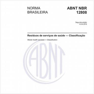 NBR12808 de 04/2016