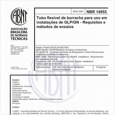 NBR14955 de 05/2003