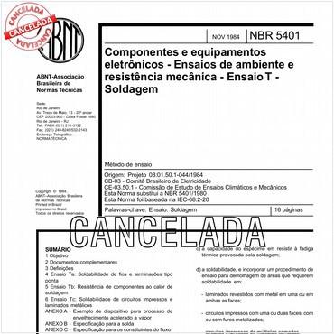 NBR5401 de 11/1984