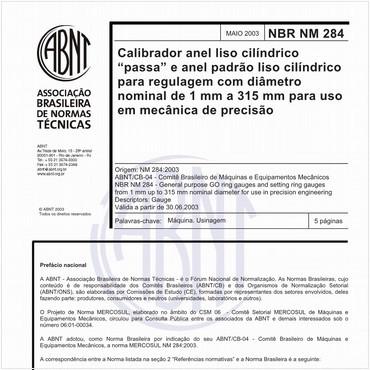 NBRNM284 de 05/2003