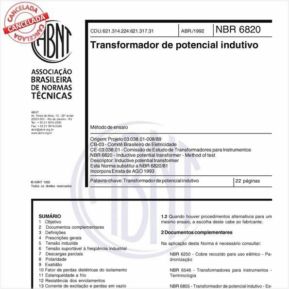 NBR6820 de 04/2009