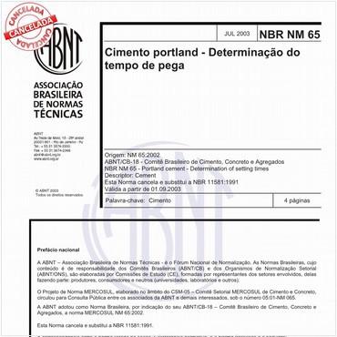 NBRNM65 de 07/2003