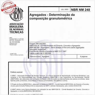 NBRNM248 de 07/2003