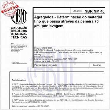 NBRNM46 de 07/2003