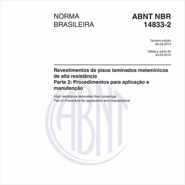 NBR14833-2 de 03/2014