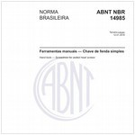 NBR14985