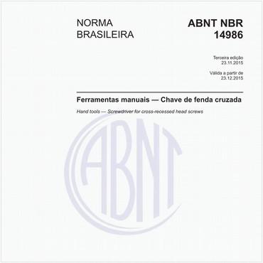 NBR14986 de 11/2015
