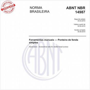 NBR14987 de 03/2010