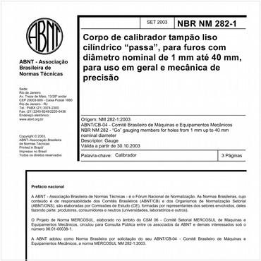 NBRNM282-1 de 09/2003