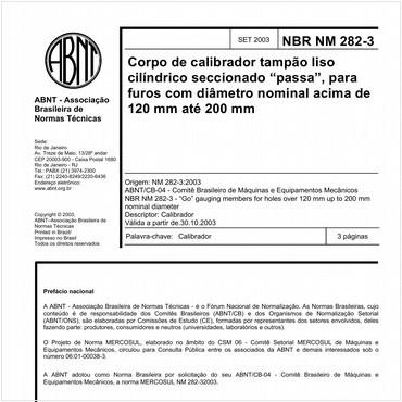 NBRNM282-3 de 09/2003