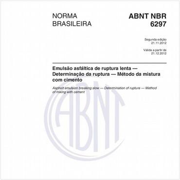 NBR6297 de 11/2012