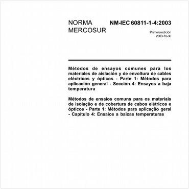 NM-IEC60811-1-4 de 09/2003