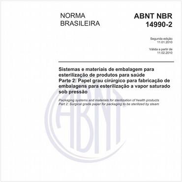 NBR14990-2 de 01/2010