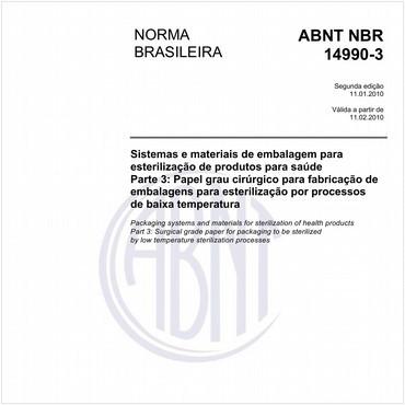 NBR14990-3 de 01/2010