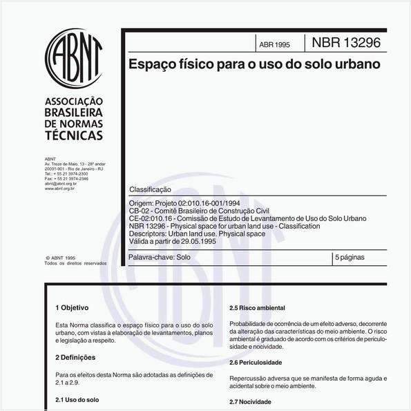 NBR13296 de 04/1995