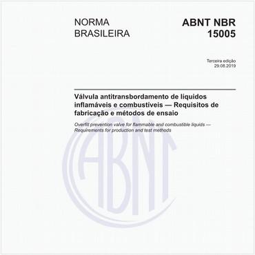 NBR15005 de 08/2019