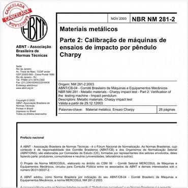 NBRNM281-2 de 11/2003