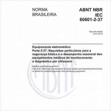 NBRIEC60601-2-37 de 01/2016