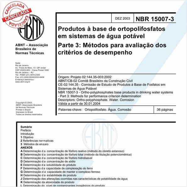 NBR15007-3 de 04/2017