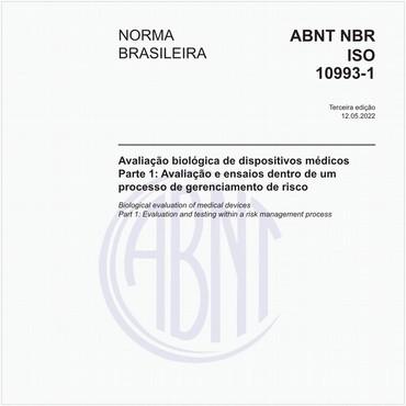 NBRISO10993-1 de 06/2013