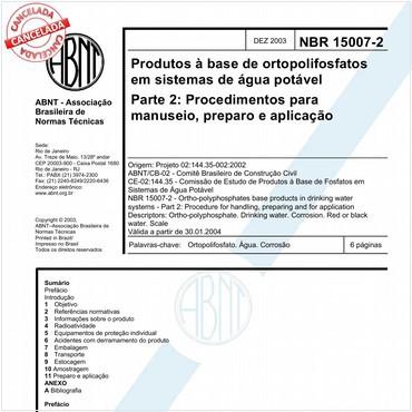 NBR15007-2 de 12/2003