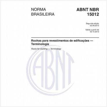 NBR15012 de 09/2013
