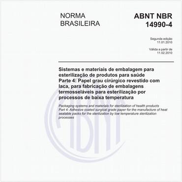 NBR14990-4 de 01/2010