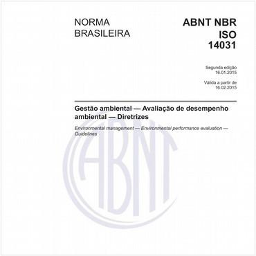NBRISO14031 de 01/2015
